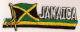 Jamaica Embroidered Flag Patch, style 01.